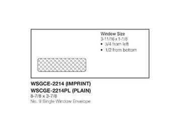 #9 SINGLE WINDOW ENV SS
