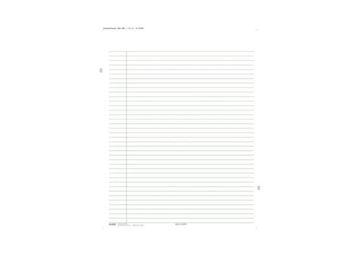 WRITING PAD/WH 8X11 TP 12/PKG