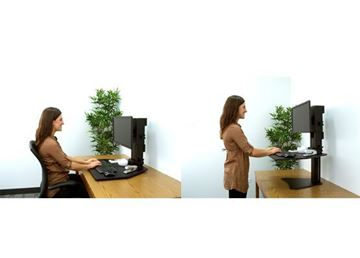 HR SIT AND STAND DESK C