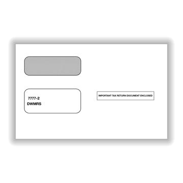 Double Window Envelope